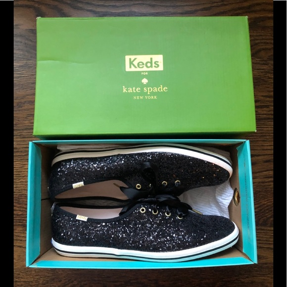 NWT Keds for Kate Spade Glitter Sneakers 8.5